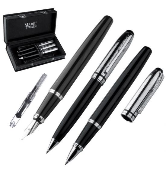 Prabangus Premium klasės rašiklių rinkinys (01-03-047)