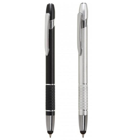 """Metalinis rašiklis su """"stylus"""" (01-01-007)"""